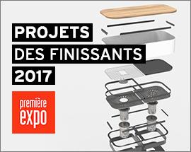 Projets finissants Baccalauréat en design de produits 2017
