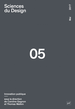 Page couverture numéro 05 de Sciences du Design