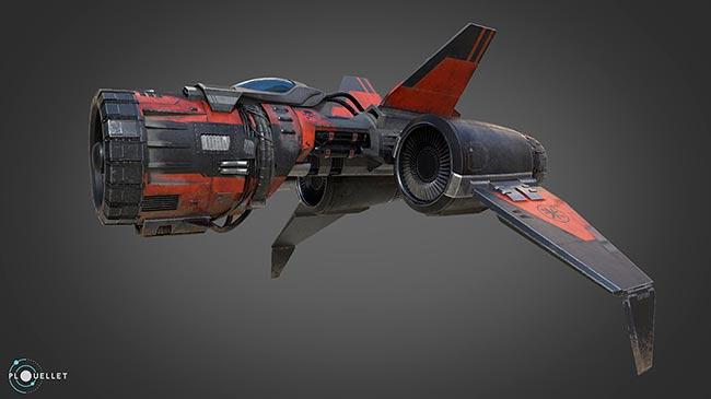 Meilleure conception 3D objet inanimé - Red Defender