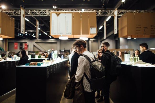 Salon d'Exposition du Sommet Mondial du Design au Palais des congrès de Montréal
